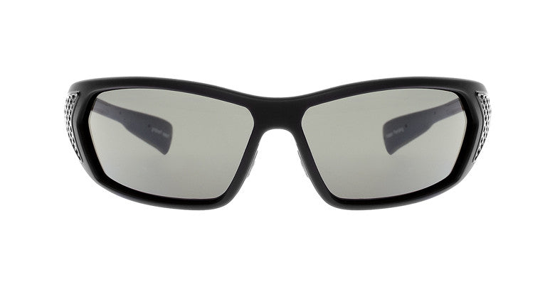 Native - Andes Matte Black/Gloss Black Sunglasses, Gray Lenses
