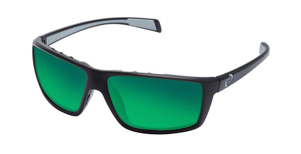 Native - Sidecar Asphalt Sunglasses, Polarized Green Reflex Lenses