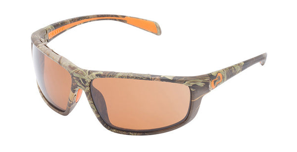 Native - Bigfork Realtree MAX-1 Camo Sunglasses, Polarized Brown Lenses