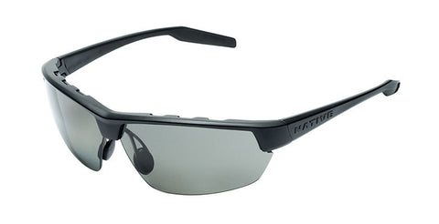 Native - Hardtop Ultra Asphalt Sunglasses, Polarized Gray Lenses