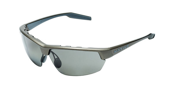 Native - Hardtop Ultra Charcoal Sunglasses, Polarized Gray Lenses