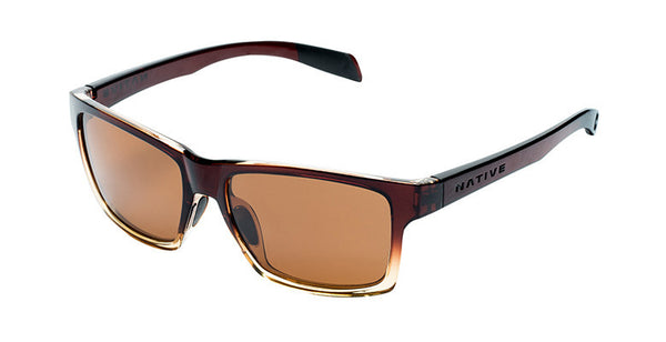 Native - Flatirons Stout Fade Sunglasses, Polarized Brown Lenses