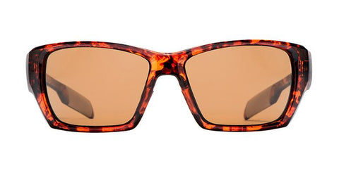 Native - Ward Matte Tort Sunglasses, Brown Lenses
