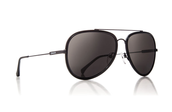 Dragon - Status Matte Black / Grey Sunglasses