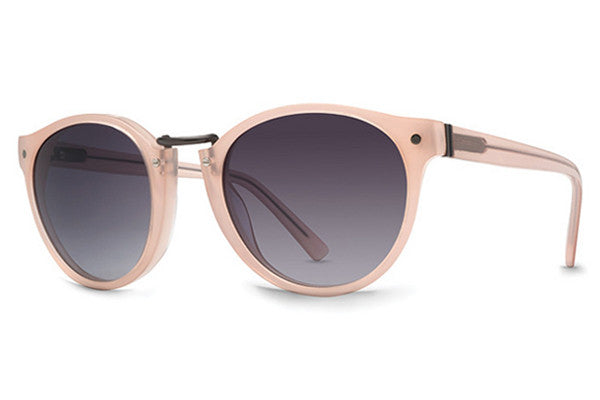 VonZipper - Stax Blush Trans UGD Sunglasses, Grey Gradient Lenses