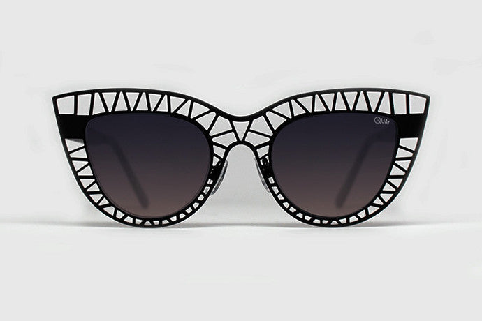 Quay Steelcat Black Sunglasses