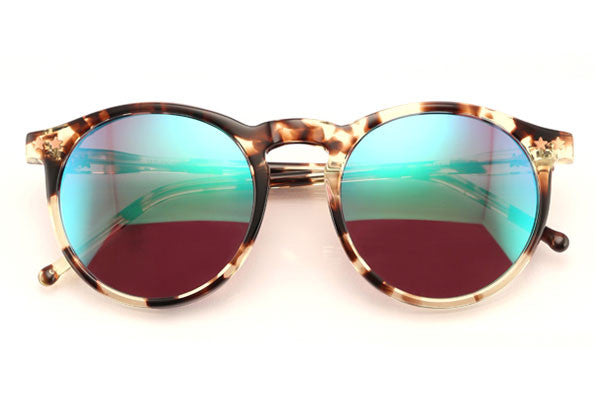 Wildfox - Steff Deluxe Amber Tortoise Sunglasses