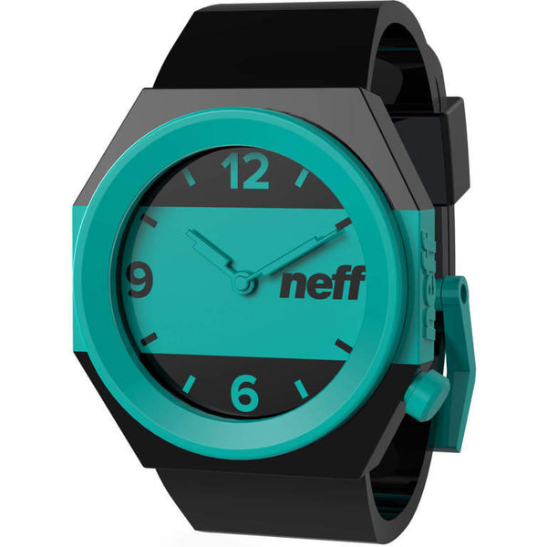 Neff - Stripe Black/Teal Watch