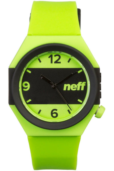 Neff - Stripe Lime/Black Watch