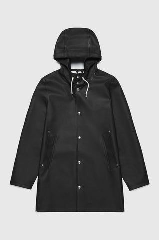 Stutterheim - Stockholm Black Raincoat