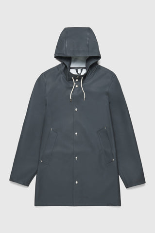 Stutterheim - Stockholm Charcoal Raincoat