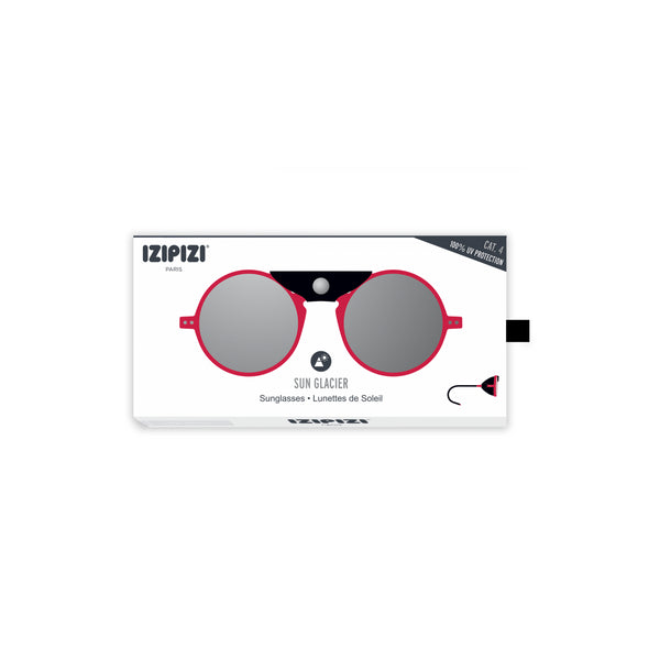Izipizi - #Sun Glacier Red Sunglasses / Polarized Brown Polycarbonate Lenses