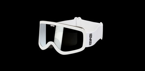 Izipizi - #Sun Snow Junior White Snow Goggles / Black Lenses