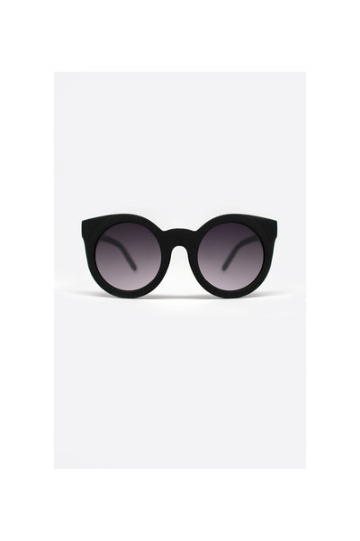 Quay Sunday Girl Black Sunglasses