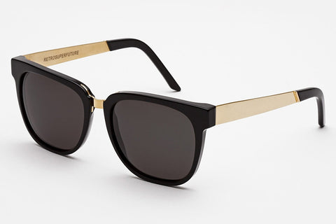Super - People Francis Black Gold Sunglasses