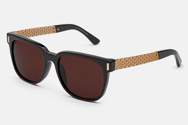 Super - People Francis Sciuro Gold Sunglasses