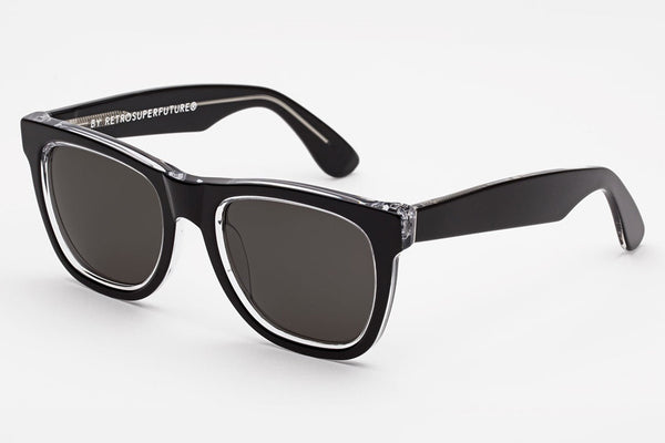 Super - Classic Achromatic Sunglasses