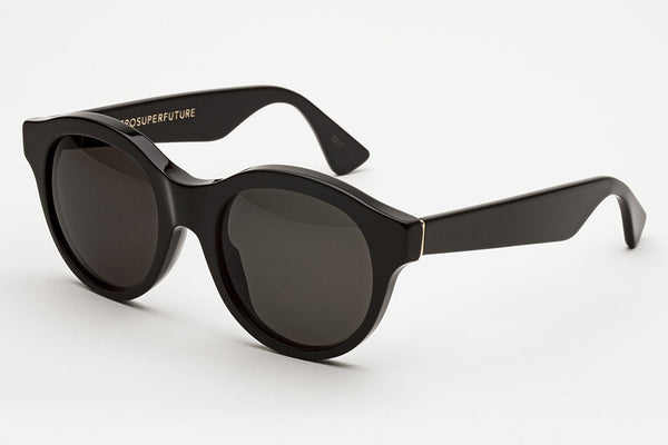 Super - Mona Black Sunglasses