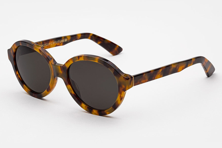 46e7939f1300 Super - Yoma Spotted Havana Sunglasses