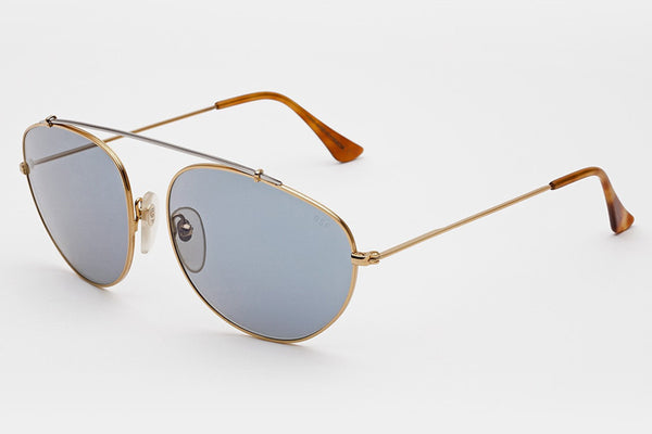 Super - Leon Blue Sunglasses