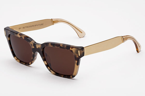 Super - America Francis Brown Puma Sunglasses