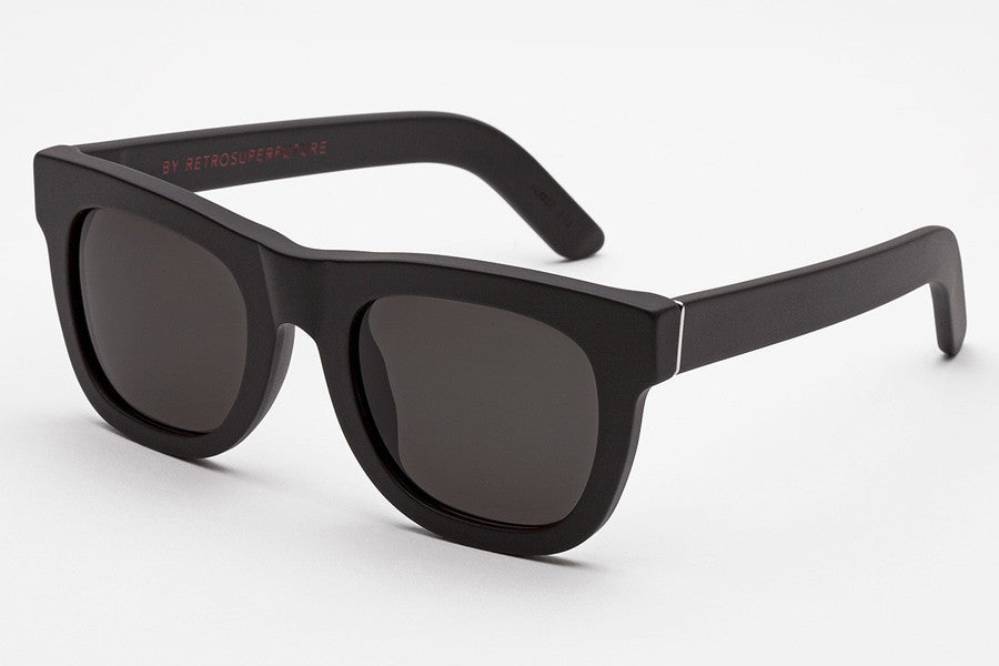 Super - Ciccio Black Matte Sunglasses