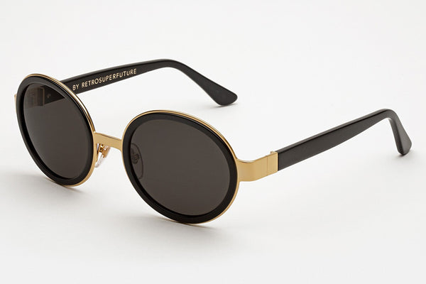 Super - Santa Black Sunglasses