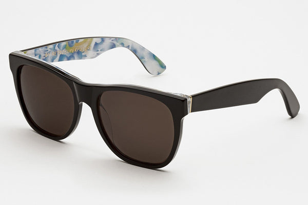 Super - Classic Tutti Frutti Blue Sunglasses