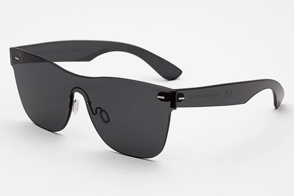 Super - Tuttolente Classic Black Sunglasses