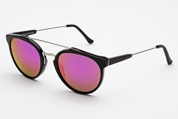 Super - Giaguaro Cove Black Sunglasses