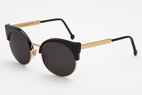 Super - Ilaria Black Sunglasses
