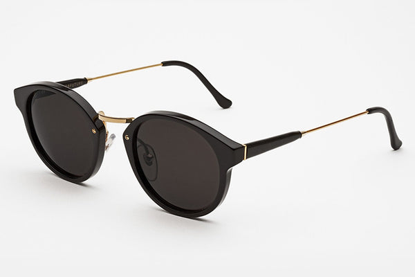 Super - Panama Black Sunglasses