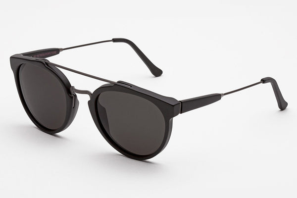 Super - Giaguaro Black Matte Sunglasses