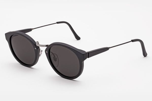 Super - Panama Black Matte Sunglasses