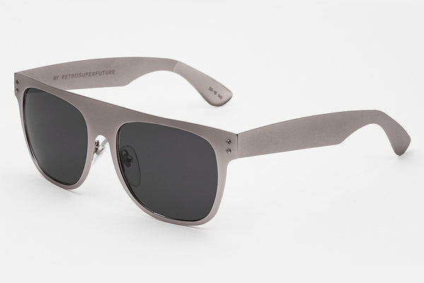 Super - Flat Top Silber Sunglasses