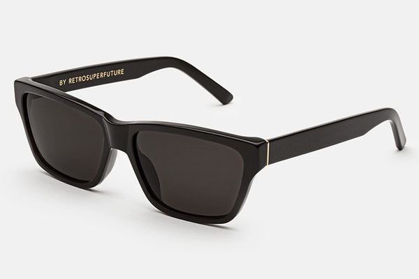 Super - Novanta Black Sunglasses