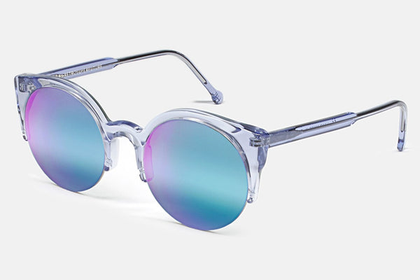 Super - Lucia Cove Blue Sunglasses