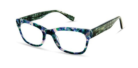 Scojo New York - Bleeker Street Tortoise Evergreen Reader Eyeglasses / +1.75 Lenses