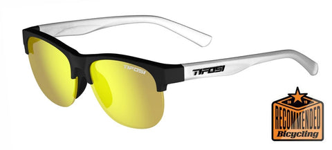 Tifosi - Swank SL 57mm Satin Black Clear Sunglasses / Smoke Yellow Lenses