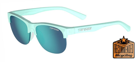Tifosi - Swank SL 57mm Satin Crystal Teal Sunglasses / Sky Blue Lenses