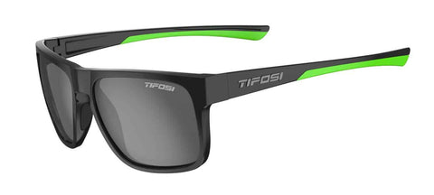 Tifosi - Swick Satin Black Neon Sunglasses / Smoke Polarized Lenses