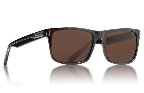 Dragon - Blindside Shiny Tortoise Sunglasses / Brown Lenses