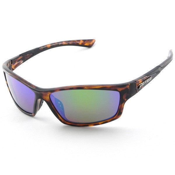 Peppers - Nomad Tortoise Sunglasses, Green Mirror Lenses