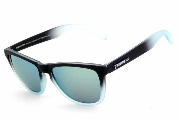 Peppers Breakers Blue Fade Sunglasses, Blue Mirror Lenses