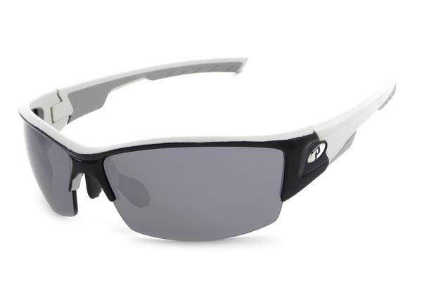 Peppers - Xenon Matte Black Sunglasses, Flash Mirror Lenses