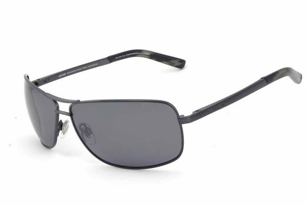 Peppers - Kona Antique Gunmetal Sunglasses, Flash Mirror Lenses