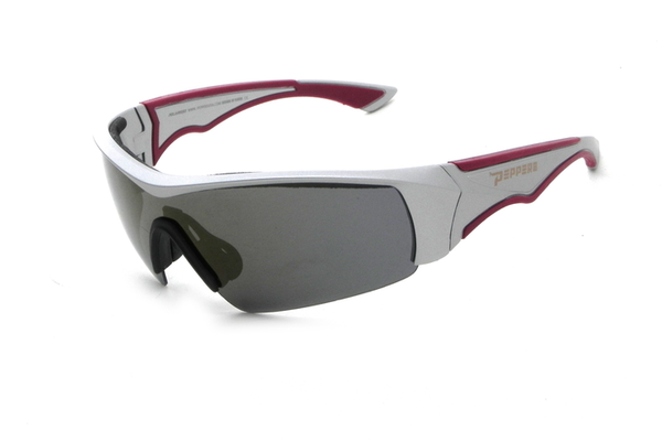 Peppers - Mako Matte Grey Sunglasses, Brown Lenses