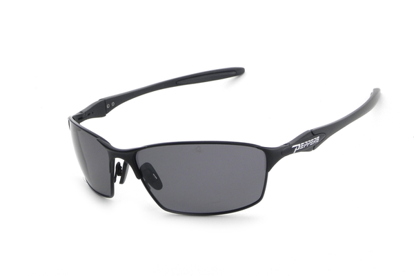 Peppers Nevada Matte Black Sunglasses, Smoke Lenses