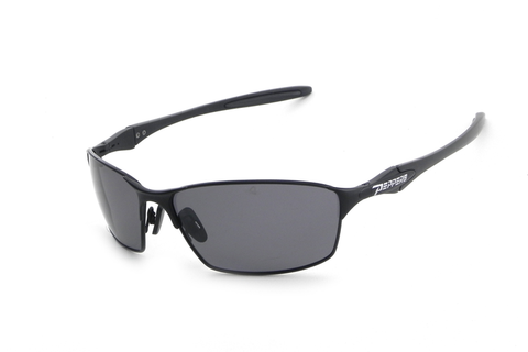 Peppers - Nevada Matte Black Sunglasses, Smoke Lenses