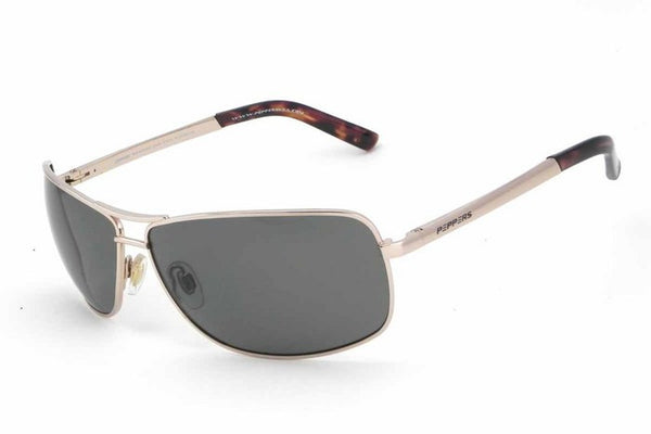 Peppers - Kona Shiny Light Gold Sunglasses, G-15 Lenses